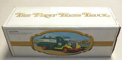 Vintage the First Hess Truck Toy Truck 1982 in Box