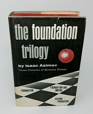 The Foundation Trilogy by Isaac Asimov Hardcover Dust Jacket