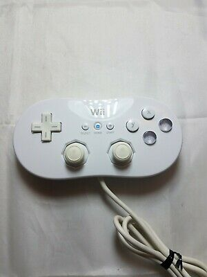 Nintendo RVL-005 Classic Pro Controller Gamepad Wired White Genuine OEM