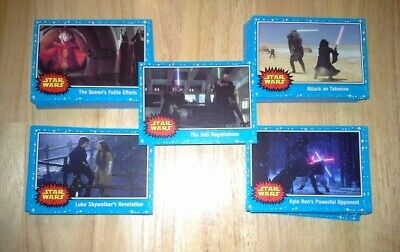Topps Star Wars Journey to The Rise of Skywalker Base 110 card set