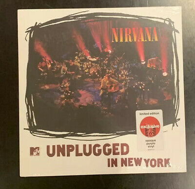 NIRVANA MTV Unplugged In New York LP [Vinyl NEW] TARGET EXCLUSIVE
