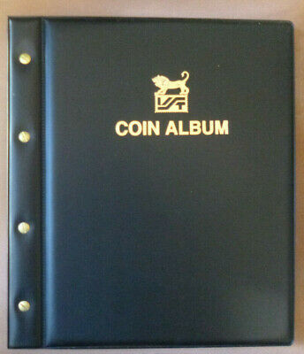 VST LARGE COIN ALBUM  - EMPTY ALBUM - FRONT & BACK COVER and SCREW POSTS only
