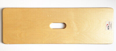 """MTS SafetySure Medical Wooden Transfer Board with Center Hand Slot - 24"""" x 8"""""""