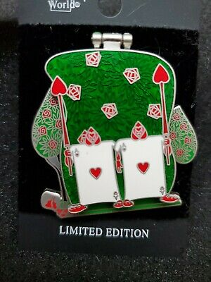 Disney Parks Haunting Halloween 2018 S Queen Of Hearts Pin LE 1000