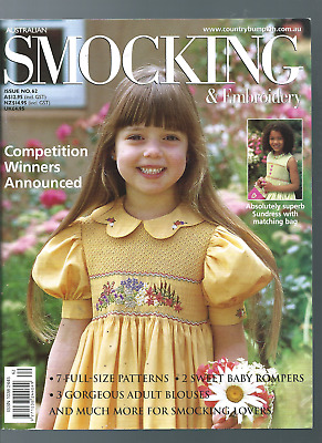 Australian Smocking & Embriodery Issue #62 2003