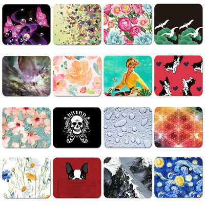 Fashion Colorful Flower Art Pattern Soft Mouse Pad Laptop Computer PC MousePad