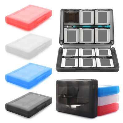 Game Card Slot Case 24Micro SD Holder Storage Box Cartridge for Nintendo Switch_
