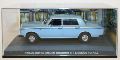 Fabbri 1/43 Scale Diecast Model - Rolls Royce Silver Shadow II - Licence To Kill