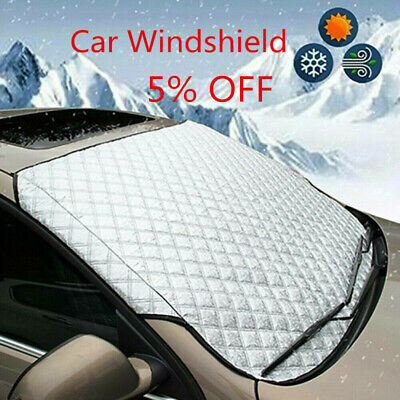 Car Windshield Snow Cover Winter Ice Frost Guard Protector Sun150x 70cm