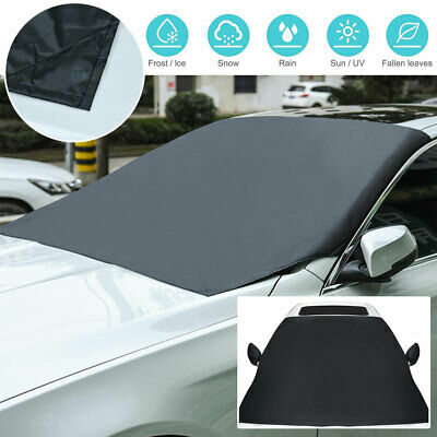 Magnetic Windscreen Cover Car Windshield Frost Ice Snow Dust Protector Sun Shade