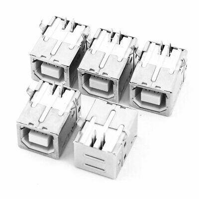 10//20//30pc Female USB 2.0 Type A Port DIP 4-Pin 90 Degree Jack Socket Connector