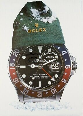 ROLEX MONTRE NEIGE-POSTER/REPRODUCTION A3+(*) d1 AFFICHE VINTAGE