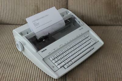 Brother AX-100 Electric Typewriter - 9 ref UA