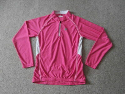 Muddyfox Pure Full Length Sleeve Jersey Ladies Cycle Cycling Top Funnel Neck