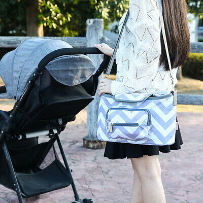 Hanging Large Capacity Portable Baby Stroller Bag Diaper Travel Storage Mama
