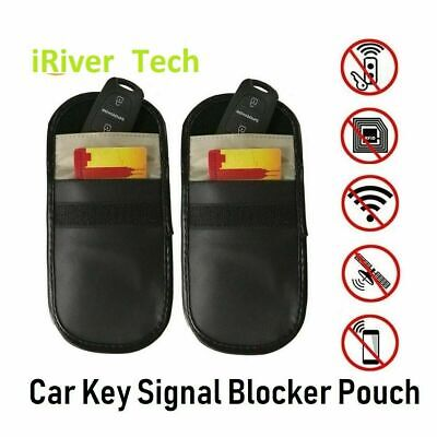 New Car Key Signal Blocker  Case Faraday Cage Fob Pouch Keyless  Blocking Bag UK