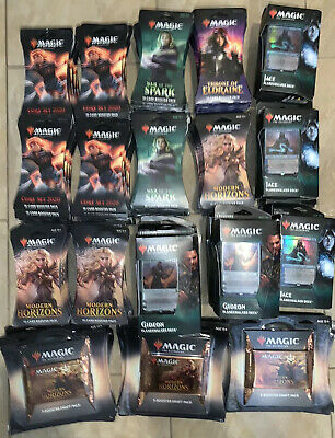 Magic The Gathering Booster / Deck Cards (Huge Lot Of 170 pkgs) NEW & SEALED