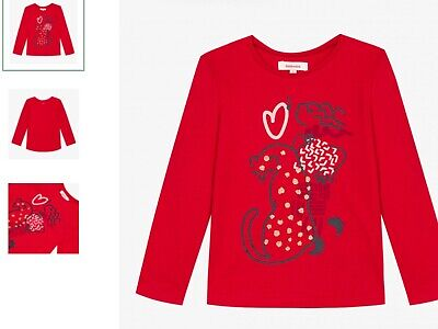 Girls top t shirt (red) catimini