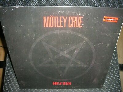 Motley Crue **Shout at the Devil *NEW BLOODSHOT RED COLORED RECORD LP VINYL