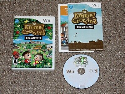 Animal Crossing: City Folk Nintendo Wii Complete
