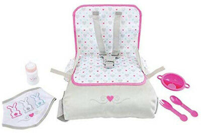Brand New Chad Valley Tiny Treasures Travel Seat and Feeding Set - Baby Doll