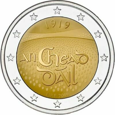 Ireland 2019 Mint €2euro Centenary of the first sitting of Dail Eireann Unc coin
