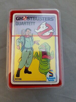 Ghostbusters Quartett Kartenspiel Card Game - Schmidt Spiele W. Germany sealed