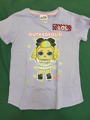 licensed girls size 7 lol surprise t shirt  - new nwt