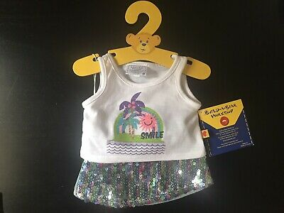 BNWT - Sequence Tank Skirt Set - Build A Bear Genuine Clothes