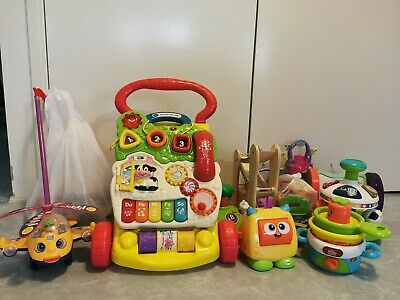 Baby First Steps Walker Activity Toy+ Lots Bundle