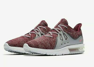 NIKE AIR MAX SEQUENT 3 Womens Running Shoes Bordeaux