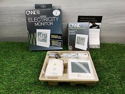 Owl Wireless Electricity Monitor For Home or Business New In Box *Free Postage*