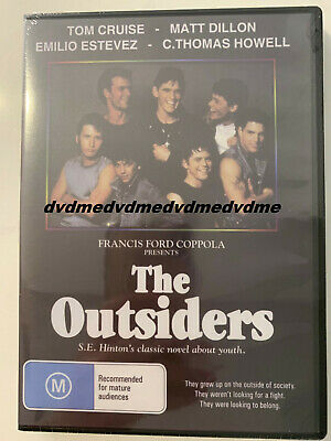 The Outsiders DVD Brand New Sealed Plays Worldwide