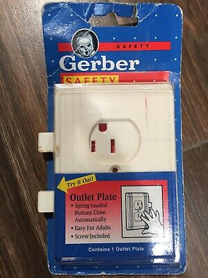 Gerber Child Safety Outlet Cover New