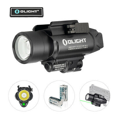 OLIGHT Baldr PRO 1350 Lumens Green Laser Rail Mounted Weaponlight Tactical Light