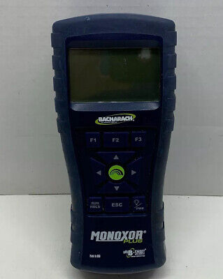 Bacharach CO Analyzer Monoxor Plus W/B-Smart Sensors