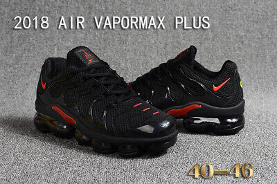 NIKE AIR VAPORMAX PLUS 2018, Black and Red