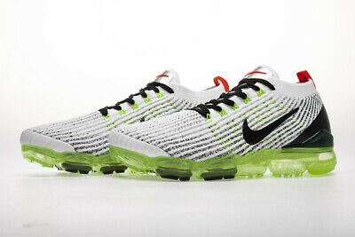 2019 Nike Air VaporMax Flyknit 3.0  Mens Running Shoes Sneakers, Green