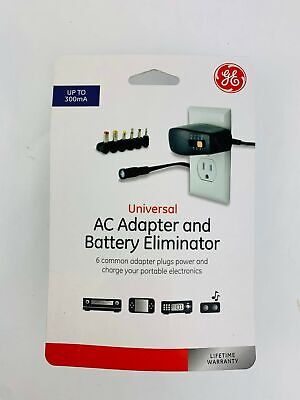 GE Universal AC Adapter and Battery Eliminator 34668