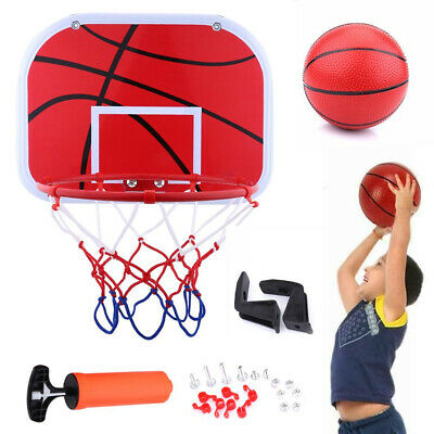 Hanging Mini Basketball Netball Hoop Board Back for Outdoor Indoor Toy Ball G