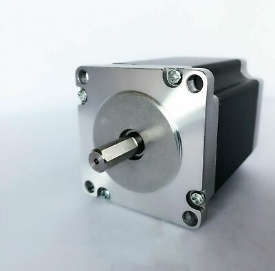 Nema23 hybrid Stepper Motor 76MM,270oz,3A 4-lead,shaft 8MM single SHIP FROM EU
