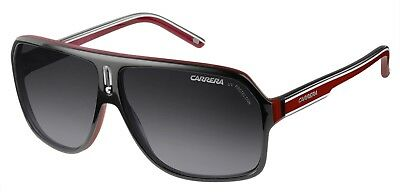 New Carrera Sunglasses 27 XAV9O Black Red Sports Racing 100% Genuine Designer