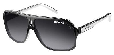 New Carrera Sunglasses 27 XSZ9O Black White Sports Racing 100% Genuine Designer