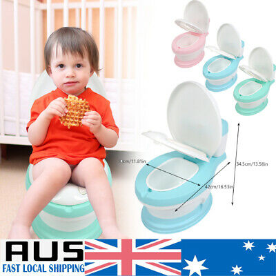 Safety Kids Baby Toddler Toilet Training Potty Trainer Cute Seat Chair AU STOCK