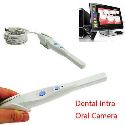 Portable Dental 5.0 MP USB IntraOral Oral Camera HK790+Software CD Teeth care