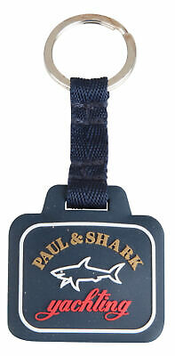 Paul & Shark Yachting keychain keyring key chain ring blue