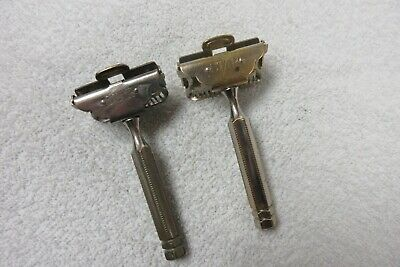 vintage Star safety razors lot of 2  Pat. 1912  lot V