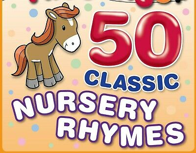 50 KIDS Childrens Singalong Songs - Favourite NURSERY RHYMES CD