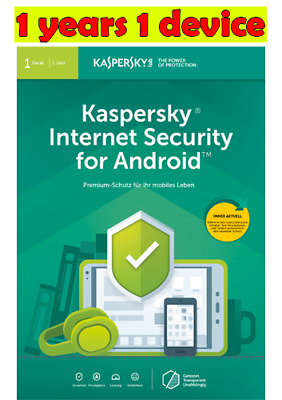 Kaspersky Internet Security for Android 2019✅1 device ✔1 year! BIG Sale !!3.25$