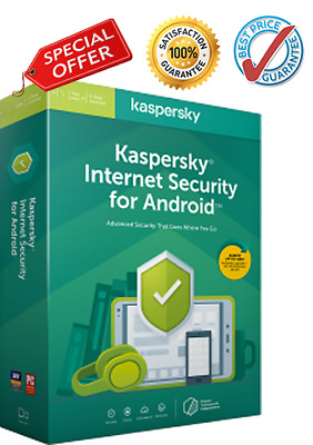 Kaspersky Internet Security for Android 2020 /1 device ✔1 year / Mobile / Tablet